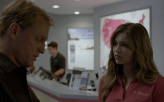 Tmobile product placement true detective