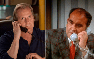 Will McAvoy y Lou Grant